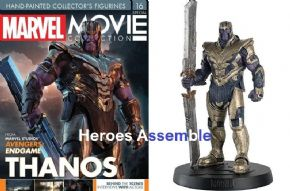 Marvel Movie Collection Special #16 Thanos Avengers Endgame Figurine Eaglemoss Publications